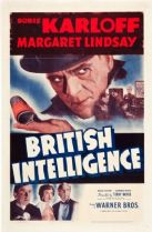 British Intelligence 1940 DVD - Boris Karloff